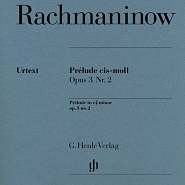 Sergei Rachmaninoff - Prelude op. 3 number 2 piano sheet music