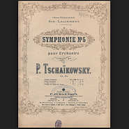 P. Tchaikovsky - Theme from the symphony №5, 2ND MOVT piano sheet music