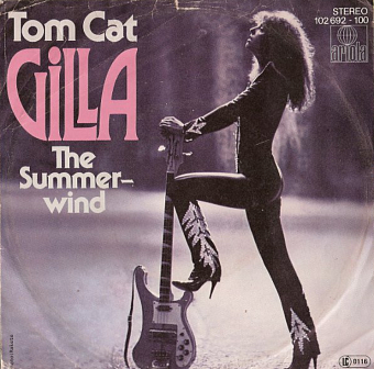 Gilla - Tom Cat piano sheet music