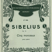 Jean Sibelius - The Spruce Op.75 No.5 piano sheet music