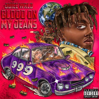Juice WRLD - Blood on My Jeans piano sheet music