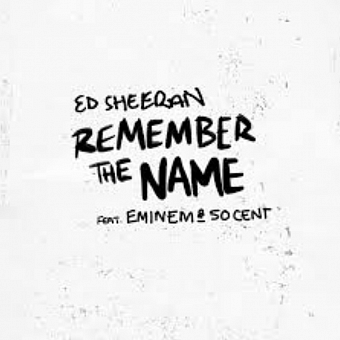 Ed Sheeran, Eminem, 50 Cent - Remember The Name piano sheet music