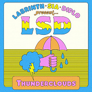 LSD and etc - Thunderclouds piano sheet music