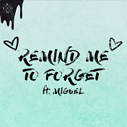 Miguel and etc - Remind Me to Forget piano sheet music