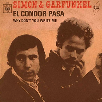 Simon & Garfunkel - El Condor Pasa piano sheet music