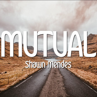 Shawn Mendes - Mutual piano sheet music