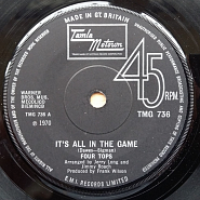 The Four Tops - It's All In The Game piano sheet music