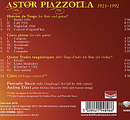 Astor Piazzolla - Histoire du Tango - Cafe 1930 piano sheet music