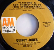 Quincy Jones - Sanford and Son Theme piano sheet music