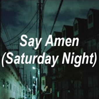 Panic! At the Disco - Say Amen (Saturday Night) piano sheet music