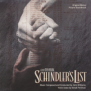 John Williams - Schindler's List piano sheet music