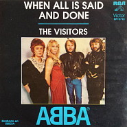 ABBA - When All Is Said And Done piano sheet music