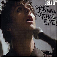 Green Day - Wake Me Up When September Ends piano sheet music