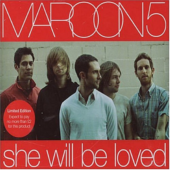 Maroon 5 - She Will Be Loved piano sheet music