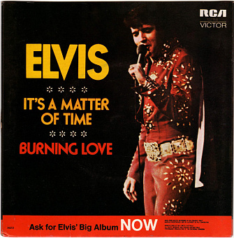 Elvis Presley - Burning Love piano sheet music