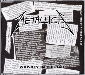 Metallica - Whiskey in the Jar piano sheet music